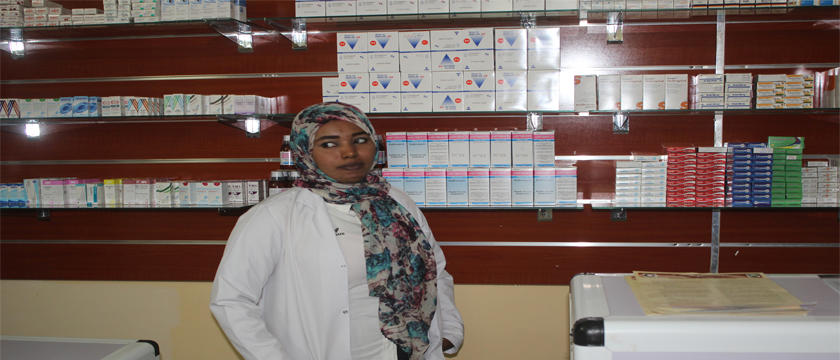 Opening of Al - Zaytouna Charity Center at Al-Salama-pharmacy
