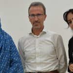 Prof. Angelo Zanzi, Ms Dina, and Ms Alsirera