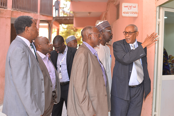 UMST Nigerian Universities Delegation Visits the University Prof Hassan