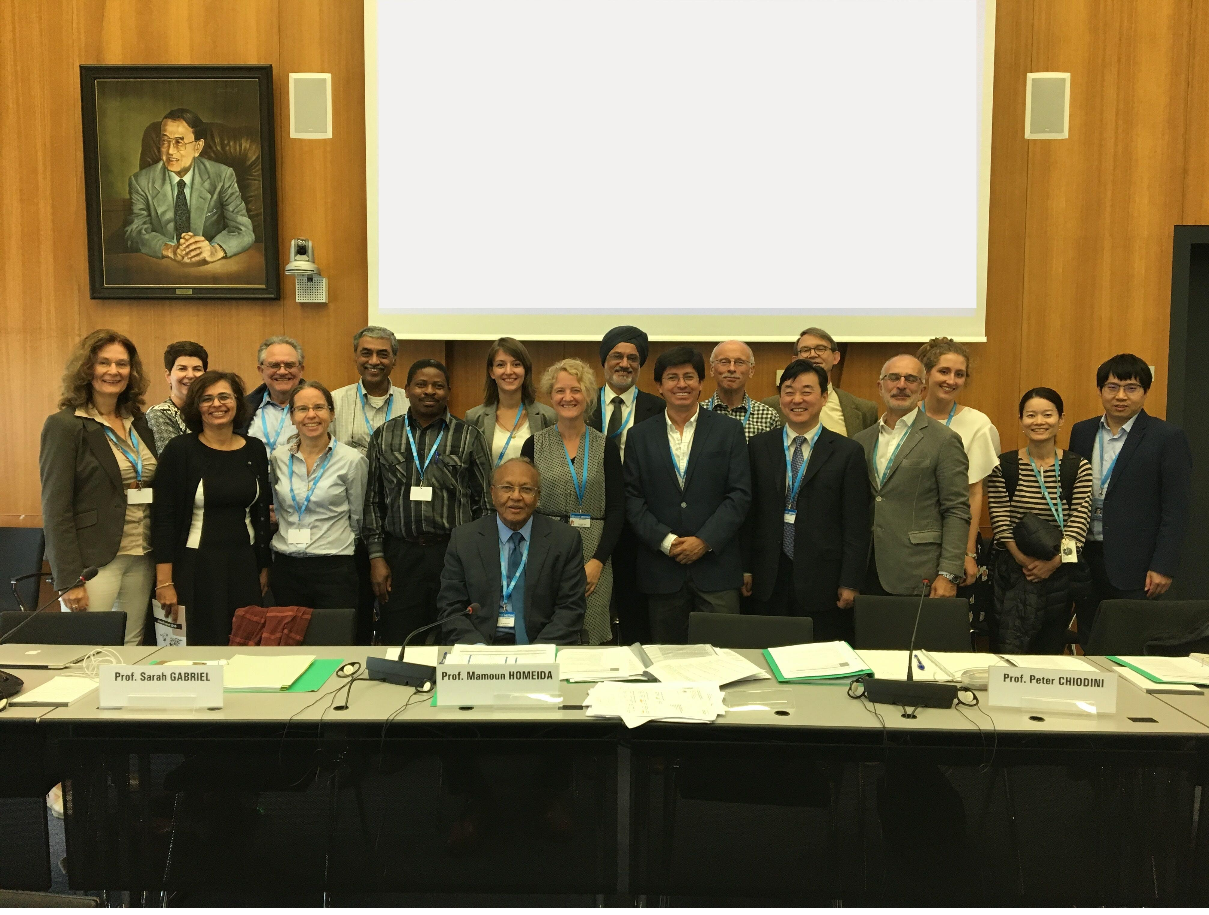 WHO meeting 25-26 Sept 2017