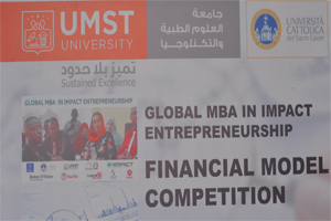 UMST-Global MBA in Impact Entrepreneurship: Financial Model Competition